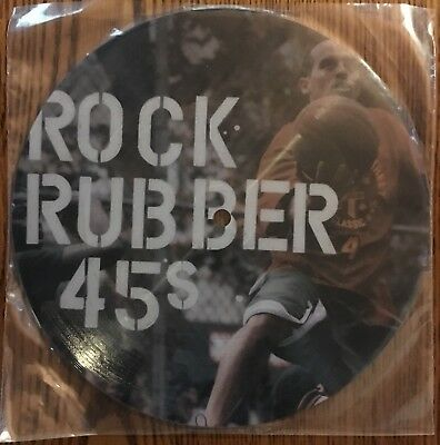 """ROCK RUBBER 45s"" 7"" picture disc, Limited edition, Bobbito - Rubber Rock"