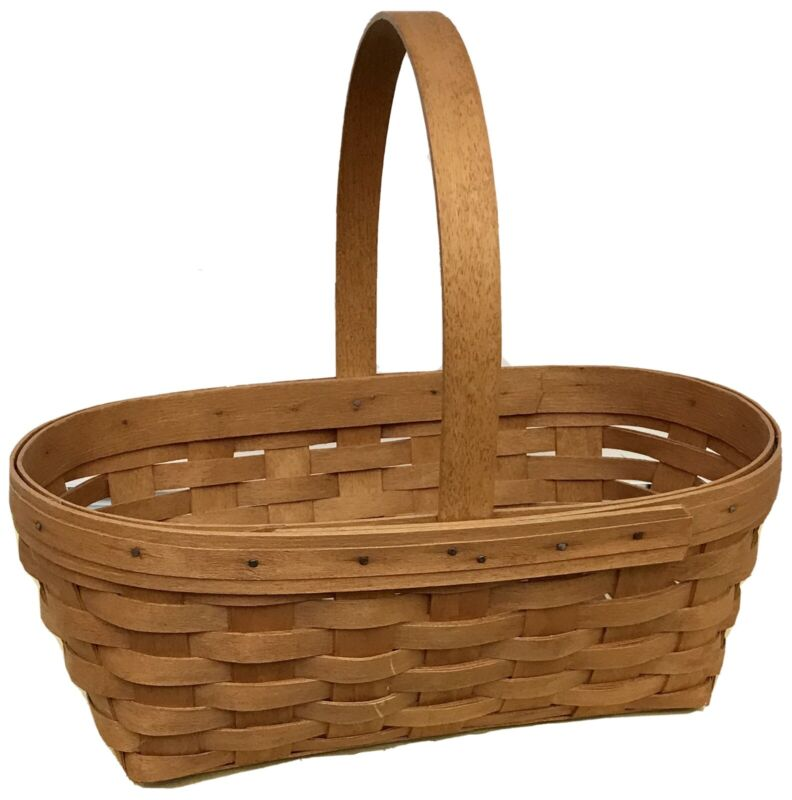 Longaberger Easter Basket 1994 Classic Stain