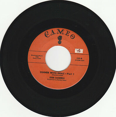 HALLOWEEN NOVELTY 45 RPM - JOHN ZACHERLE ON CAMERO RECORDS - SOUND CLIPS AVAIL](Zacherle Halloween)
