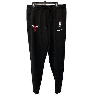 Nike Chicago Bulls Black Thermaflex Sweat Pants Size 2XL Brand New AA5213-657