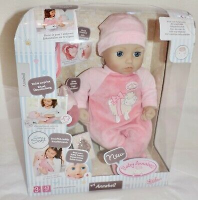 NEW Baby Annabell DOLL (794999) w/Realistic Sounds/Movements - MINOR PKG DAMAGE