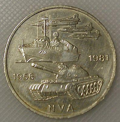 DDR 10 Mark 1981 25 Jahre NVA