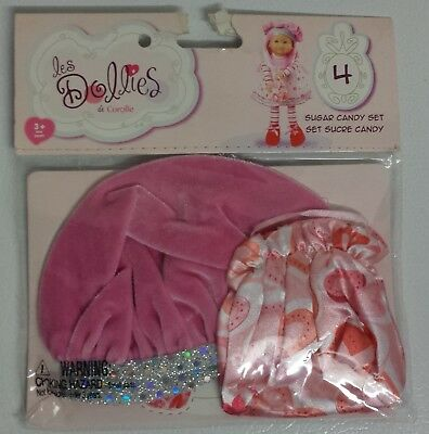 (Corolle les Dollies Sugar Candy Set 4 Fashion for 16