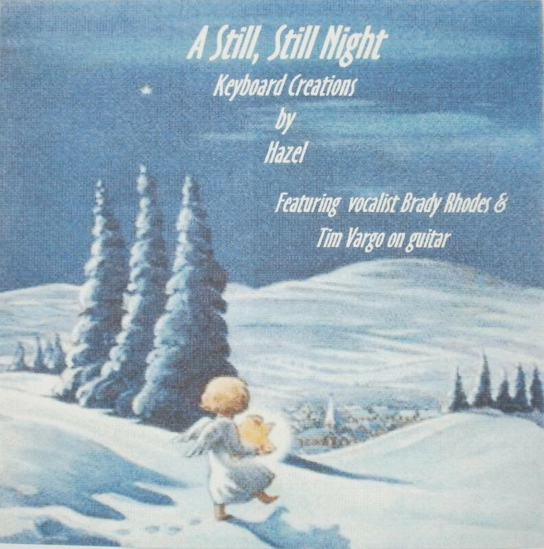 A Still,Still Night-Christmas Songs CD instrumental Keyboard Piano Accompaniment