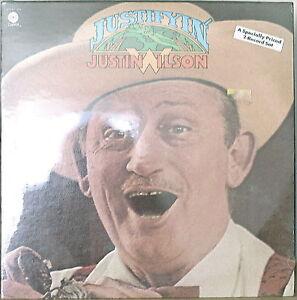 JUSTIN-WILSON-Justifyin-SEALED1975-2LP-Cajun-Comedian-Storyteller