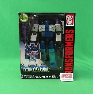 Transformers Generations Titans Return Dreadnaught & Overlord Sealed Hasbro