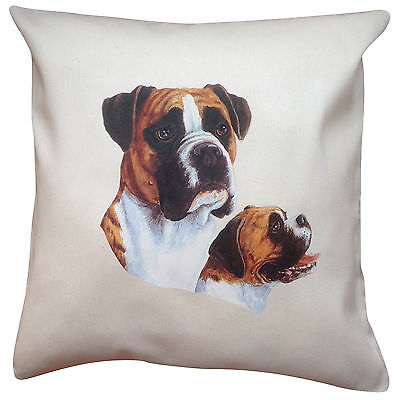 Boxer Breed of Dog Group Cotton Cushion Cover - Perfect Gift Pure Breed Boxer