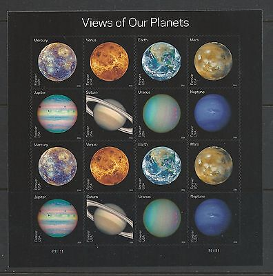 Купить 2016 #5069-5076 View of Our Planets Pane of 16 MNH