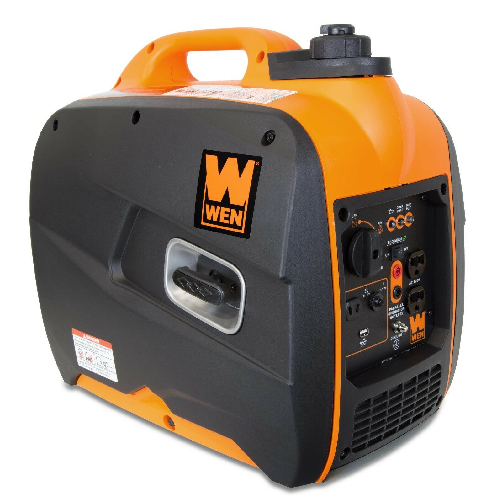 WEN 56200i 2000W Gas-Powered Portable Inverter Generator (SHIPS TO PUERTO RICO)