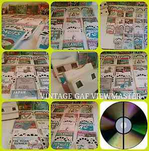 VINTAGE GAF AMERICAN VIEWMASTER BUNDLE 60s 70s RETRO Lindisfarne Clarence Area Preview
