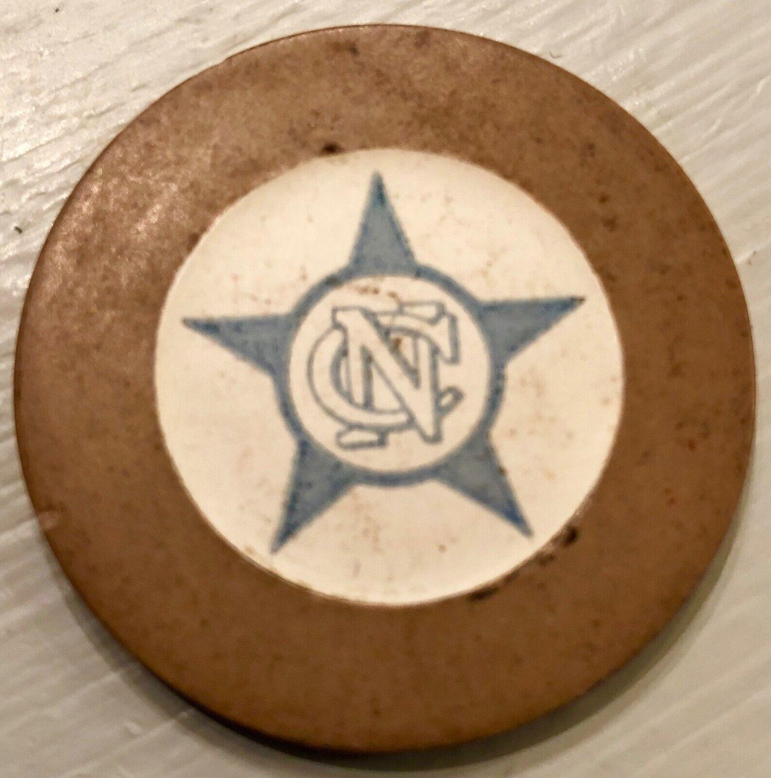 Cuba Casino Nacional Brown Crest & Seal CN With Star Havana
