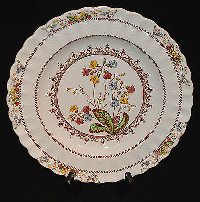 SPODE COPELAND CHINA DINNER PLATE COWSLIP PATTERN