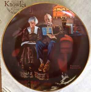 Bradford Exchange Norman Rockwell Collector Plates Strathcona County Edmonton Area image 4