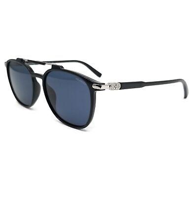 Salvatore Ferragamo Polarized Sunglasses SF893SP 001 Solid Black Men 54x17x145