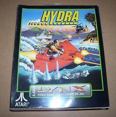 Vintage Atari Lince Videojuego Consola Portátil Cartucho Hydra Nuevo en Caja
