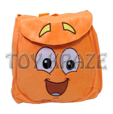 Go Diego Go Plush Backpack  Soft Orange Rescue Pack  Boy Dora The Explorer Nwt