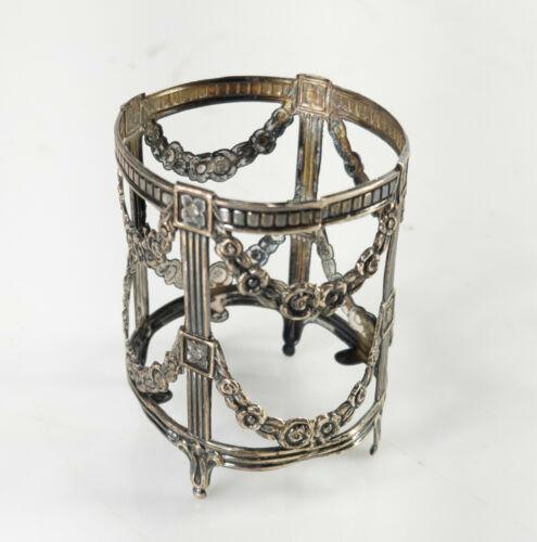Antique Sterling Silver Decorative Adams Style Frame Spanish Hallmarked Star