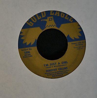 Teen Dorothy (HEAR IT TEEN Dorothy Collins Gold Eagle 1806 I'm Just A Girl)