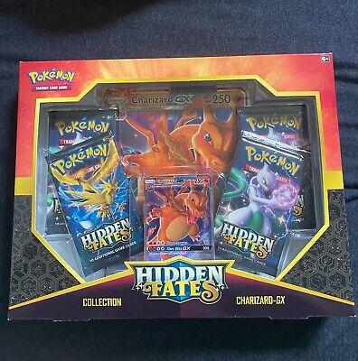 Pokemon Hidden Fates Charizard GX collection box