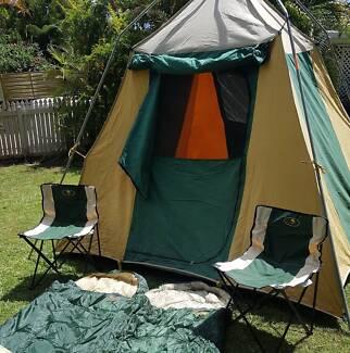 Tent canvas u0026 C&ing Gear & Canvas Tent. Diamantina. 3x7m | Camping u0026 Hiking | Gumtree ...