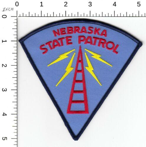 NEBRASKA STATE PATROL POLICE DISPATCHER RADIO PATCH NE