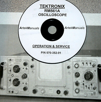 Tektronix Instruction Manual For Rm561a Oscilloscope Good Color Schematics