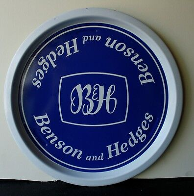Benson and Hedges 1970's Pub Bar Beer drinks tray Retro