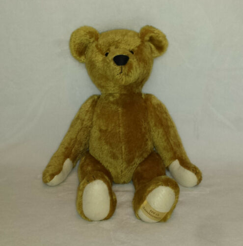 """YOSHITOKU Tokyo 100th Anniversary Jointed Mohair TEDDY BEAR 16"""" Made in Germany"""