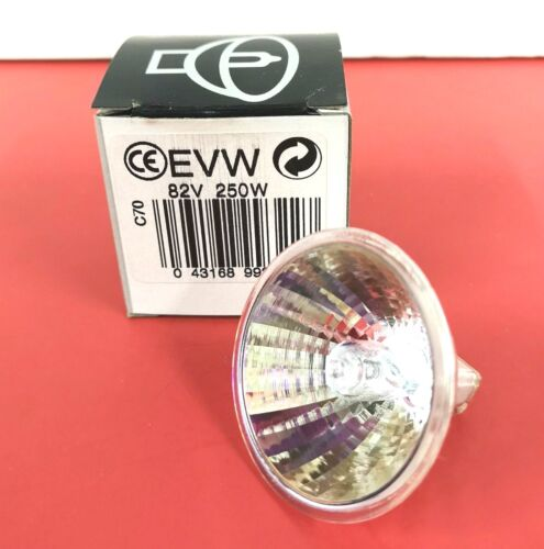 2-PK EVW 250W 82V NEW Photo Stage Projection LIGHT BULB Studio NEW LAMP