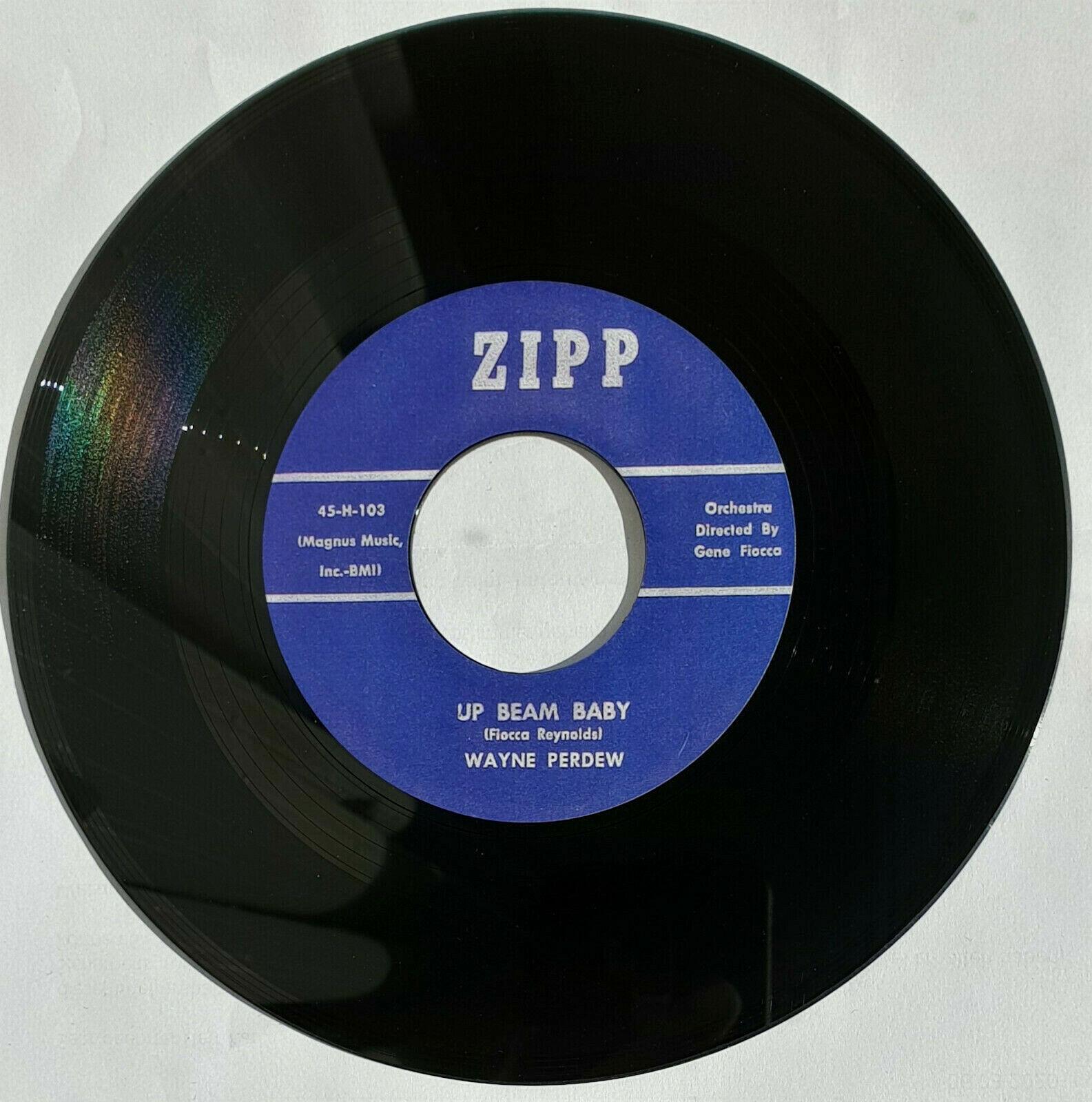 Wayne Perdew - Up Beam Baby  Rockabilly 45rpm