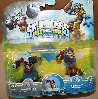 Skylanders SWAP FORCE Night Shift Doom Jet  Pack - Neu & OVP