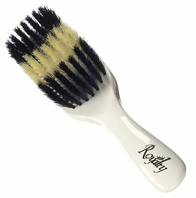 Royalty By Brush King Wave Brush #721-7 row Soft,Medium, Soft- Great 360 - 7 Row Brush