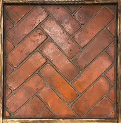 British Handmade Terracotta Spicer Brick Slip Floor Tiles