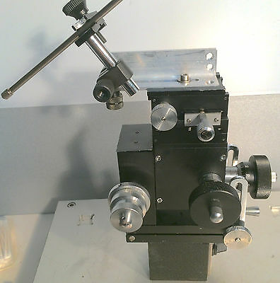 Narishige Mx-4r 33 Coarsefine Ax Patch Clamp Micro Manipulator Tilt Magn. Base