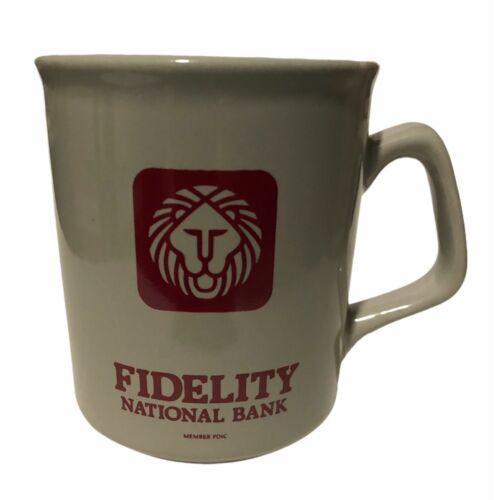 Vintage Fidelity National Bank (Atlanta, GA) Coffee Mug