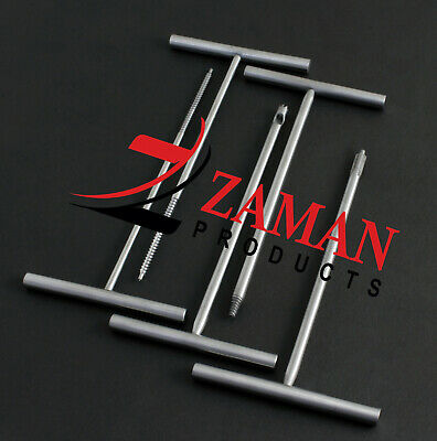 Small Fragment Set Of 5 Pcs Orthopedic Surgical Instruments By Zaman Products