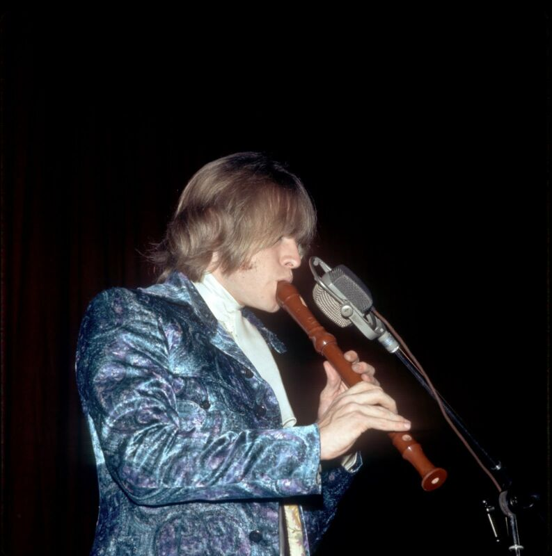 Brian Jones Flute  8x10 Photo Print