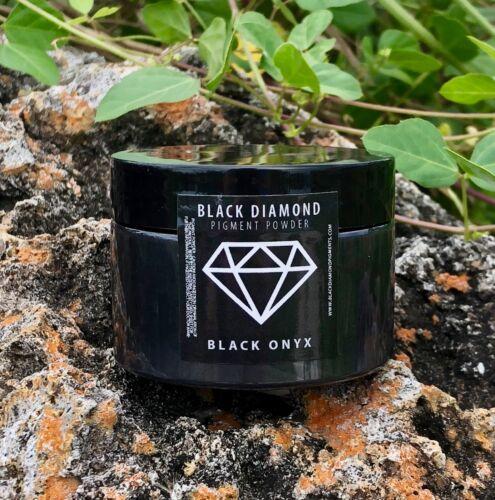 BLACK DIAMOND 42g/1.5oz Mica Powder Pigment - Black Onyx
