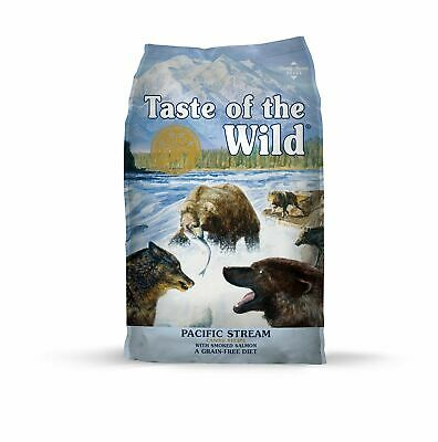 Taste of the Wild Grain Free Premium High Protein Dry Dog Food Pacific (Taste Of The Wild Salmon Dog Food)