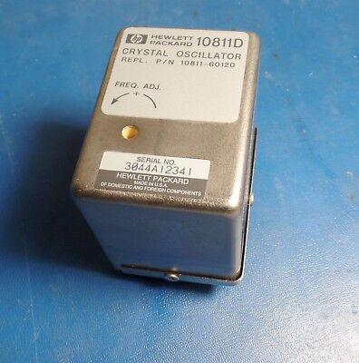 Hp Agilent 10811d 10811- 60120 Crystal Oscillator 10mhz Ocxo