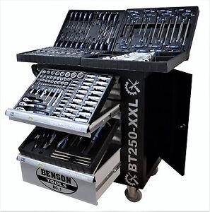 Werkzeugwagen gefüllt mit Werkzeug Werkstattwagen Werkzeugschrank Werkzeugkiste
