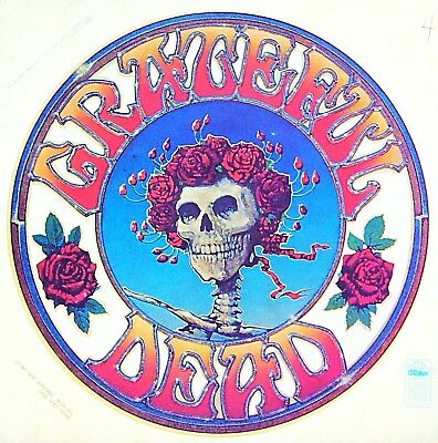 Original 1975 Grateful Dead American Beauty Iron On Transfer LAST ONE!