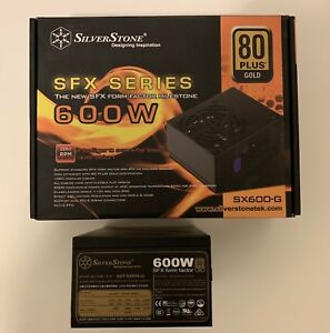 Silverstone SFX SX600 80Plus Gold 600W / Fully Modular PSU