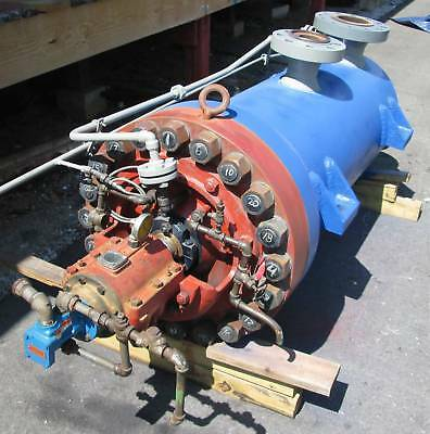 Rebuilt Byron Jackson 4x11-10stg Typ Hdb 375000 Lbshr Boiler Feed Water Pump Bj