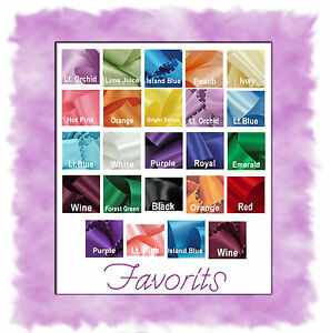 Satin-Ribbon-Offray-1-8-or-1-4-10-yds-or-3-16-6-yds-18-Colors-You-Pick