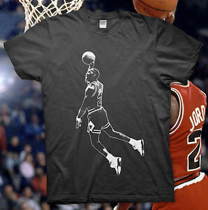 MICHAEL-JORDAN-High-Quality-Cotton-T-Shirt-NBA-BULLS-Slam-Dunk-23-ALL-STAR