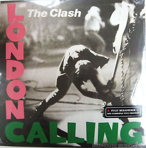 The CLASH LP x 2 London Calling 180 Gram REMASTERED Audiophile SEALED 2013 Vinyl