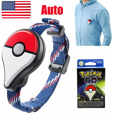 New Nintendo Pokemon Bracelet Go Plus Device Auto Catch - Fast Shipping US STOCK](Go Plus)