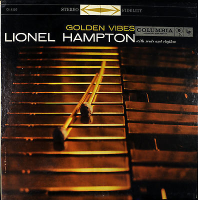 Lionel Hampton  Golden Vibes  Columbia 8110 Stereo Nm 6 Eye Jazz Lp