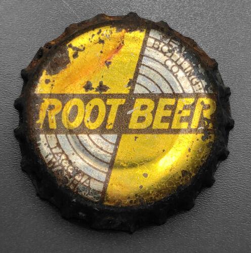 Vintage Used Root Beer Cork Soda Bottle Cap - Tacoma, Wash